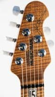 Music Man JP15 Cerulean Paradise Quilt, with Roasted Neck
